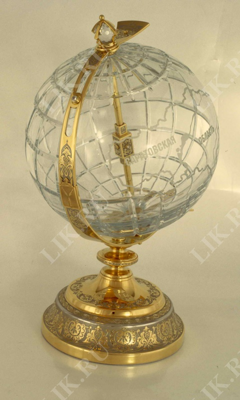 Глобус Хрустальный
